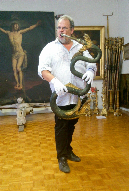 Michel Godard et le Serpent villefranchois