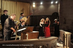 Gavino Murgia, Michel Godard, Clément Lanfranchi, Bruno Helstroffer, Sarah Szlakmann, Marlène Moly, Fanny Paccoud